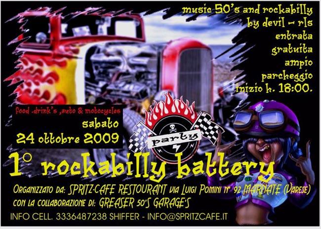 1° ROCKABILLY BATTERY  - Mr Paloma