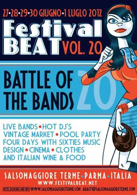 Festival Beat Vol 20 Salsomaggiore Terme - Mr Paloma