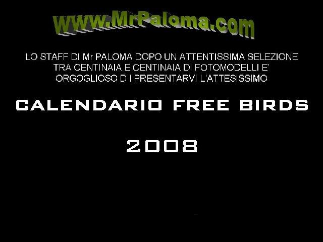 Mr Paloma calendario 2008 - Mr Paloma