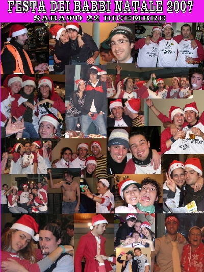 Festa Babbi Natale 2007 - Mr Paloma