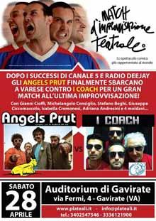 Angels Prut improvvisazione teatrale 28 Aprile 2012