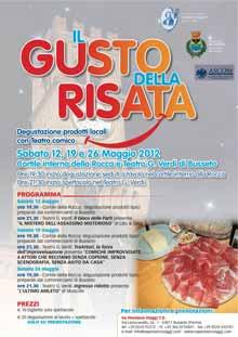 Teatro improvvisazione Busseto Sabato 19 Maggio 2012