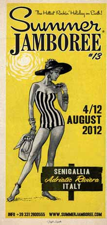 Summer Jamboree Senigallia 2012 piu musica piu location