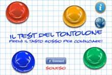 Il Test Del Tontolone App iPhone