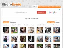 PhotoFunia fotomontaggi online gratis
