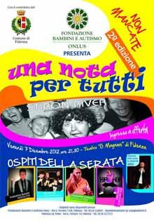 Venerdi 7 Dicembre 2012 Fidenza Una nota per tutti