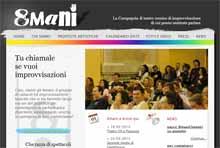 TraAttori 8MANI da Modena improvvisazione
