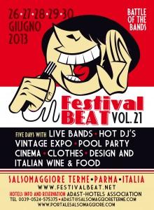 Festival Beat 2013 Salsomaggiore Terme