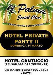 Hotel Cantuccio Salsomaggiore Domenica 31 Marzo 2013