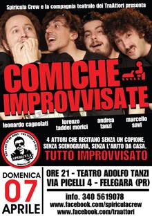 Comiche improvvisate Fornovo 07 Aprile 2013 TraAttori
