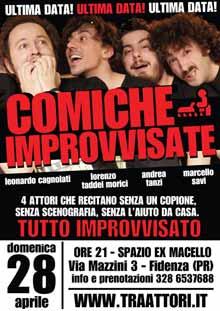 Improvvisazione teatrale 28 Aprile 2013 Fidenza