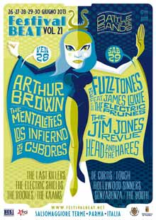 Poster Festival Beat Salsomaggiore 2013
