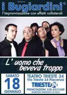 I Bugiardini Improvvisazione Piacenza