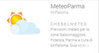 Aggiornamento Meteo Parma ver. 1.94