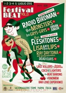 Festival Beat XXIII 2015 Salsomaggiore