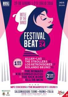 Festival Beat XXIV 2016 Salsomaggiore