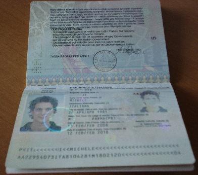 Passaporto ... e e e e ci siamo !