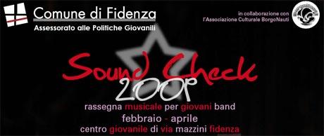 Sound Check 14 Marzo 2009