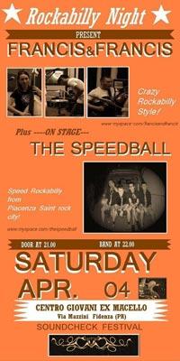 Sound Check 2009 - Rockabilly Night