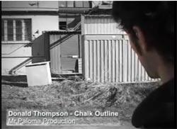 DONALD THOMPSON - Chalk Outline
