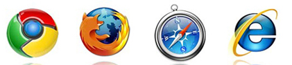 Browser ... Google Chrome avanza ... gia 1%