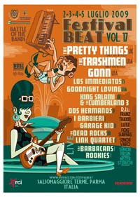 Festival Beat Programma 2009 - Salsomaggiore Terme (Parma)