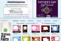 PhotoMontager sito per fotomontaggi