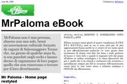 Nasce MrPaloma eBook