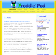 Software Gratis per iPod ... Froddle Pod