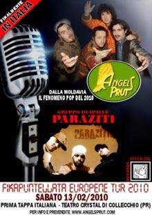 Concerto Angels Prut 13 Febbraio 2009