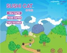 Gioco Flash Sushi Cat