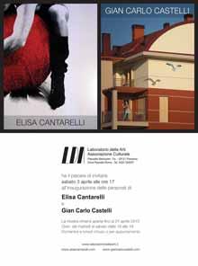 Elisa Cantarelli esposizione opere Laboratorio delle Arti