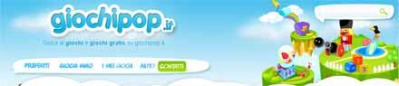 nuovo portale di giochi flash giochipop