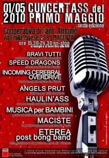 Cuncertass del Primo Maggio Festival Cooperativa di Sant'Antonio