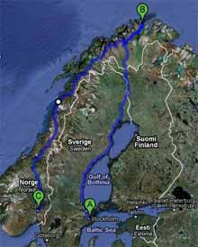 Norvegia Vacanza Estiva 2010