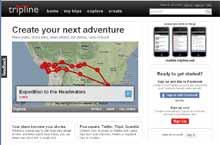 Tripline condivisione delle mappe del vostro viaggio