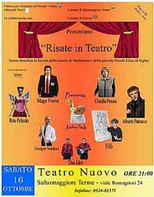 Risate in teatro Salsomaggiore Terme