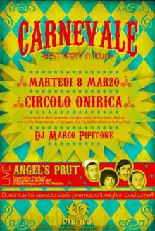 Onirica Parma 8 Marzo 2011 concerto Angels Prut