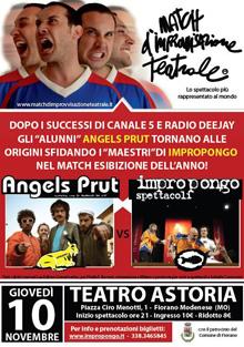 Angels Prut Vs Impropongo improvvisazione a teatro