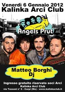 Angels Prut Kalinka Arci Club 6 Gennaio 2012