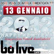 Bo Live Fidenza 13 Gennaio 2012