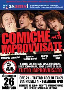 Improvvisazione teatrale TraAttori Spiricula Crew