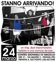 Fidenza Improvvisazione 24 Marzo 2012 BoxeAttori