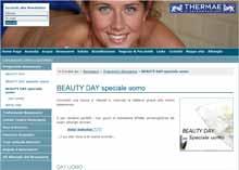 Offerte terme benessere beauty day