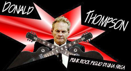Donald Thompson - Punk Rock figlio di ...