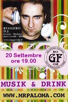 Gelateria Fontana ... Musik and Drink
