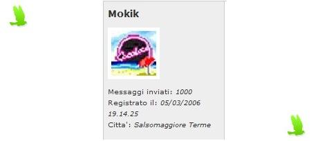 Mokik a quota 1000 messaggi