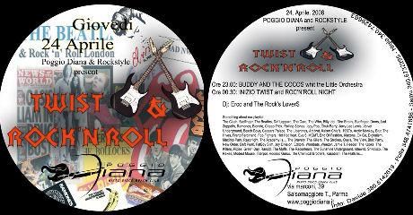 TWIST & ROCK'N ROLL PARTY - GIOVEDI' 24 APRILE AL POGGIO DIANA