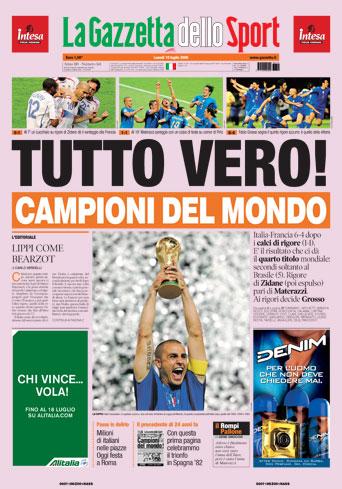 ITALIA CAMPIONE DEL MONDO !!! - Mr Paloma