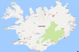 Islanda 2016 percorso